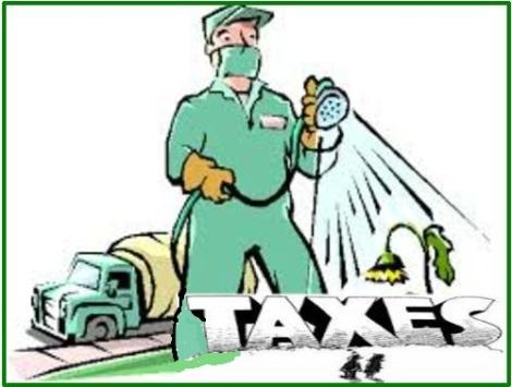 spraying weeds tax composit
